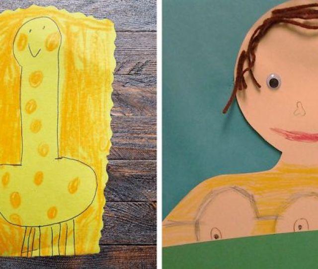 Innocent Kid Drawings That Look Totally Nsfw
