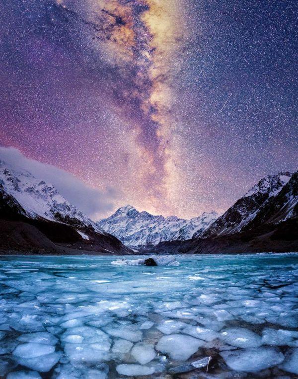 New Zealand Winter Night Sky