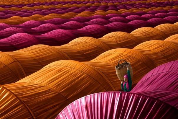 Los invernaderos de fresas, Turquía (1er lugar en la categoría de viajes)