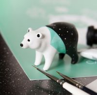 Tiny Animal Sculptures That I Create From Polymer Clay ...