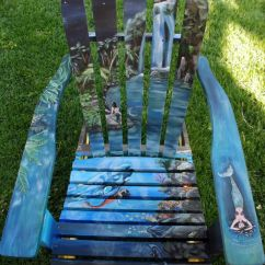 Paint For Adirondack Chairs Large Folding Chair Covers I Vibrant Landscapes On Boring Patio Bored Panda Few Of My Other Designs