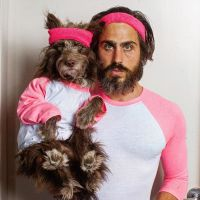 Man Dresses Puppy Son in Matching Outfits, And Now Its ...