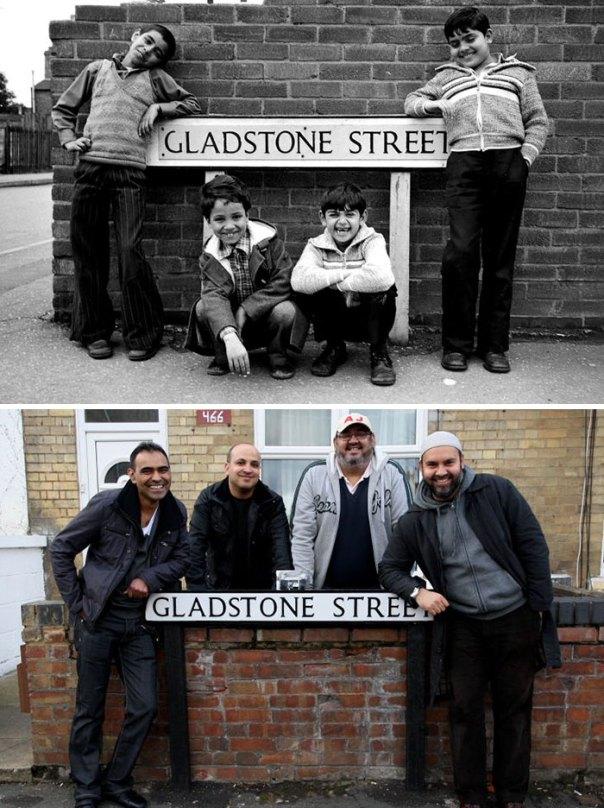 Antes y después de 40 años