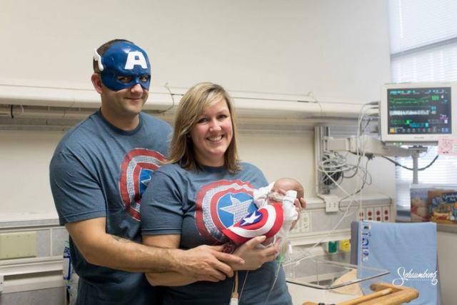e0075a758 Este hospital disfrazó de superhéroes a los bebés prematuros para ...