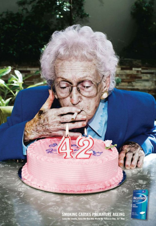 Smoking Causes Premature Aging