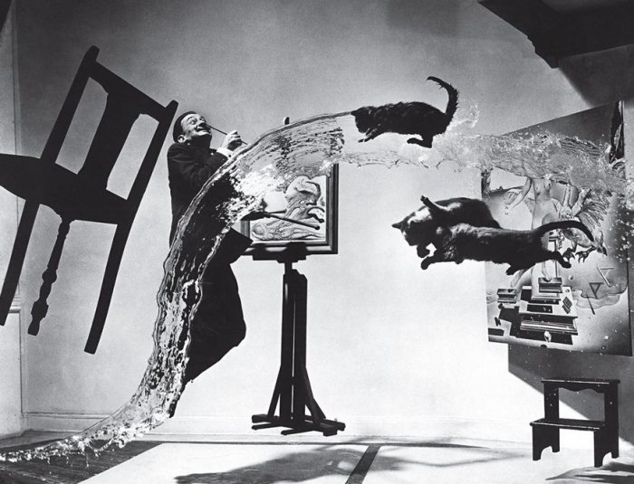 Dalí Atómico, Philippe Halsman de 1948