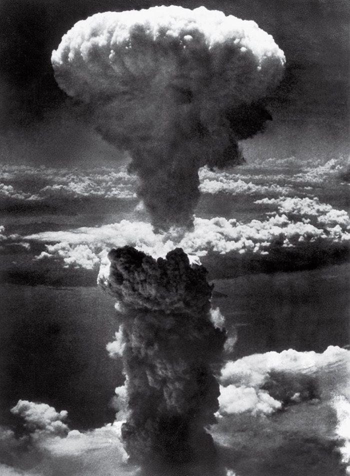Hongo nuclear sobre Nagasaki, el teniente Charles Levy, 1945