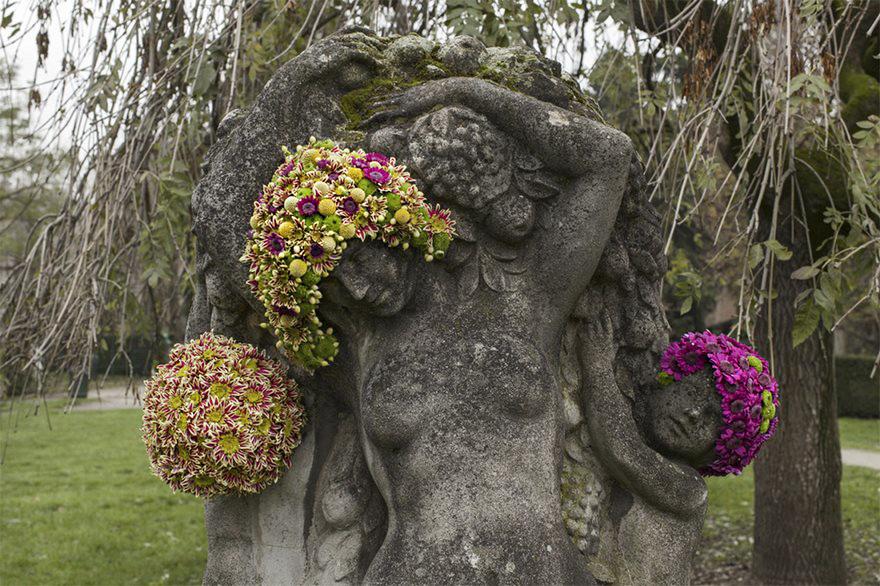 Çiçek kronları-sakal-anıtlar-geoffroy-mottart-brüksel-9