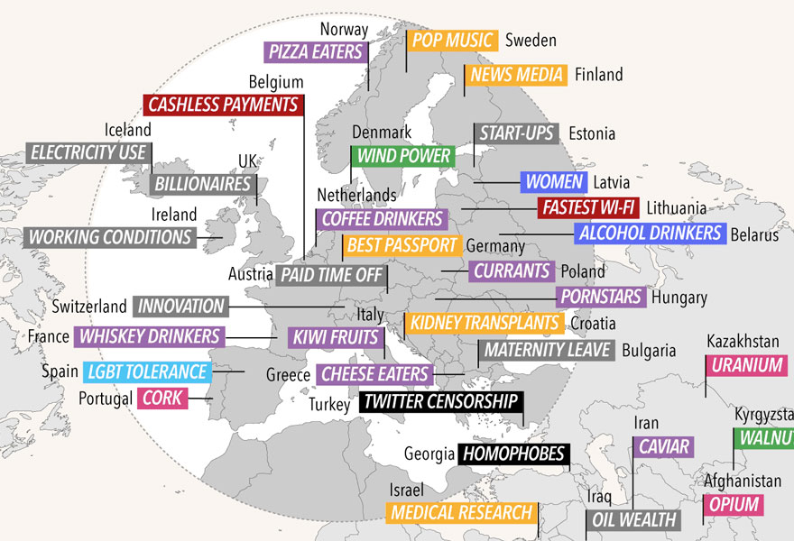 international-number-ones-statistics-world-map-2016-4