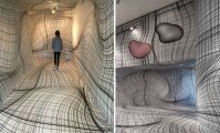 Optical Illusion Rooms By Peter Kogler Will Give You ...