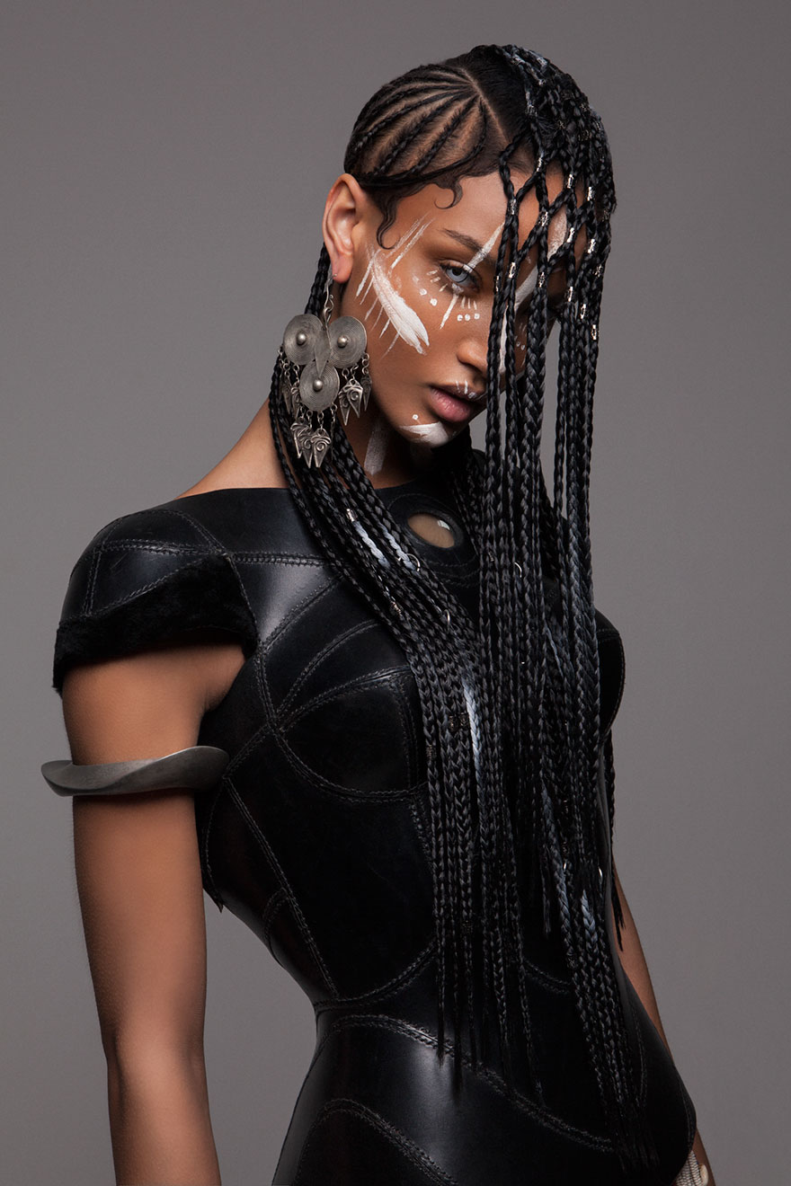 Lisa Farrall 'armour' Hair Collection