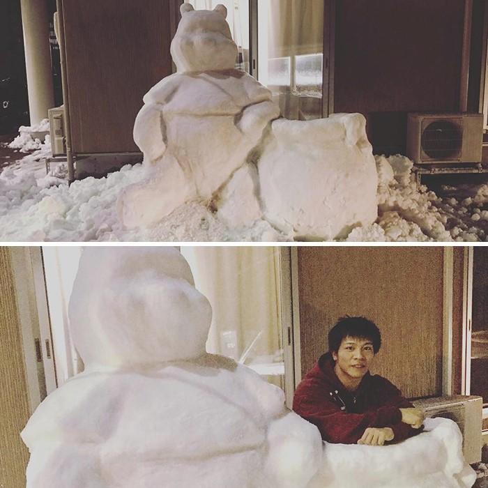 Creative Snow Sculptures