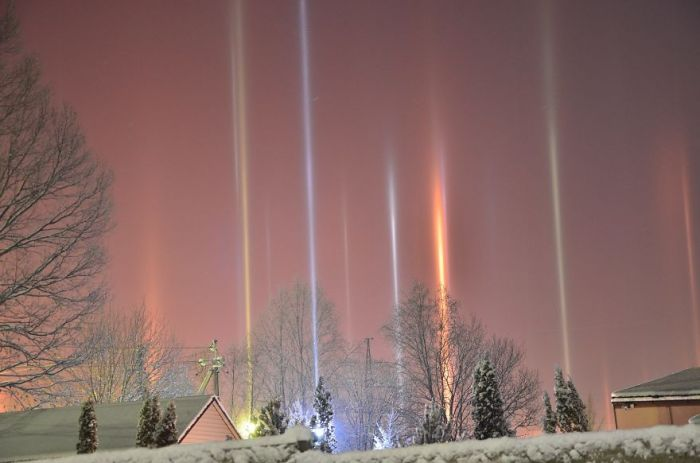 Colonne Light In Russia