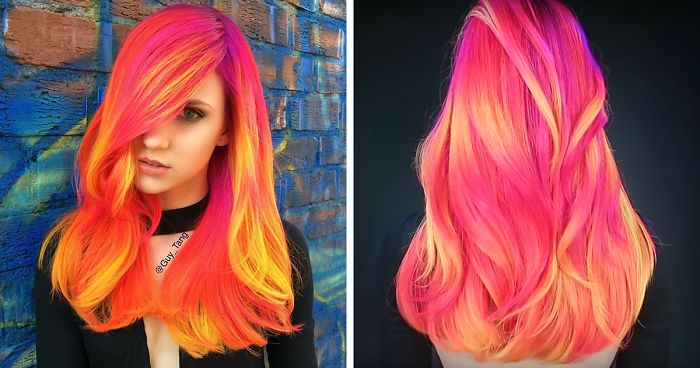 People Are Loving This New Glow In The Dark Hair Trend