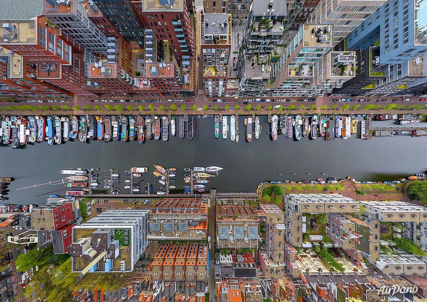 Westerdok, Amsterdam, The Netherlands