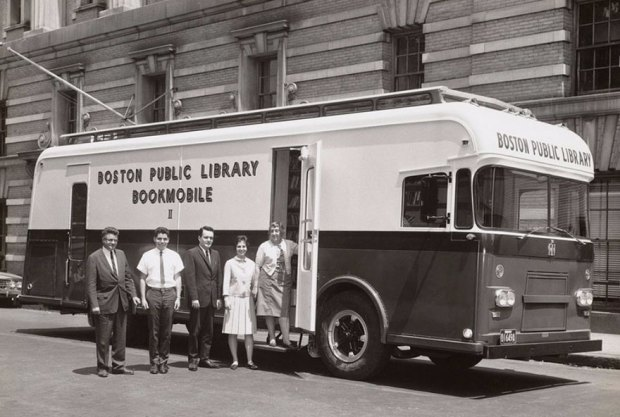 A Boston Public Library Bookmobile, 1963