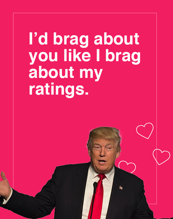 10 Donald Trump Valentines Day Cards Are Going Viral And Theyre Hilarious Bored Panda