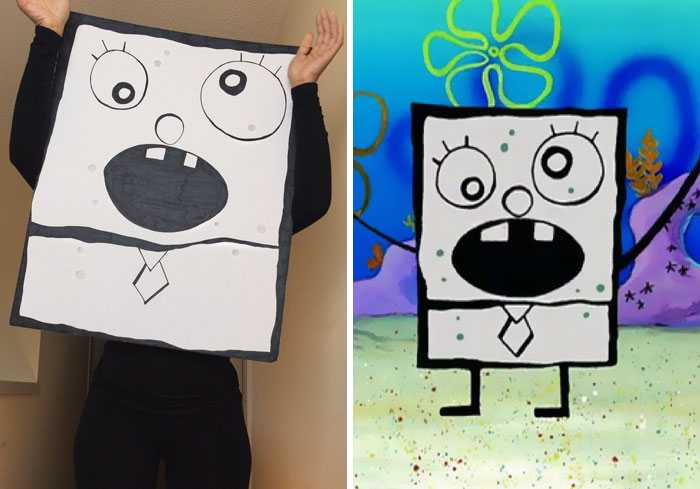 Doodlebob From Spongebob