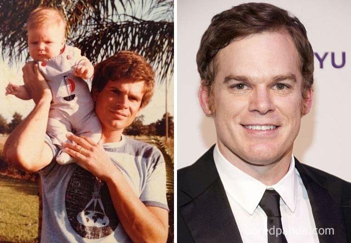 Meu pai parece Vintage Dexter (Michael C. Hall)
