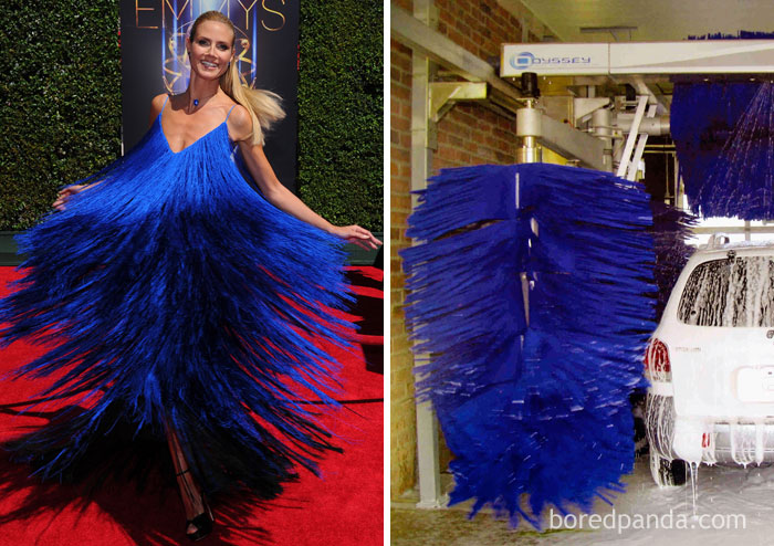 Heidi Klum Or A Car Wash Brush?