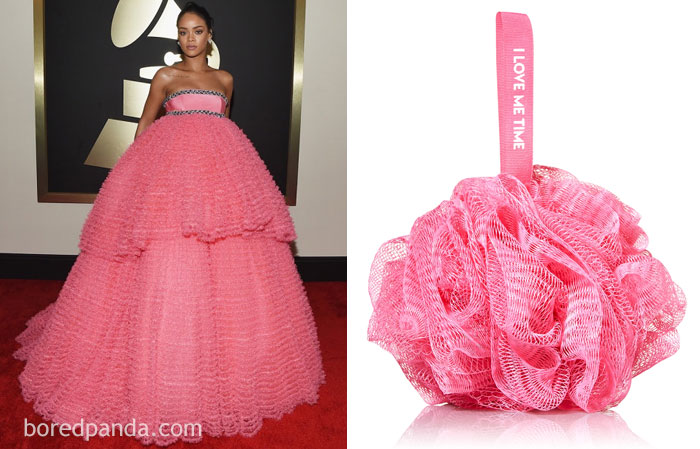 Rihanna Or This Shower Sponge?