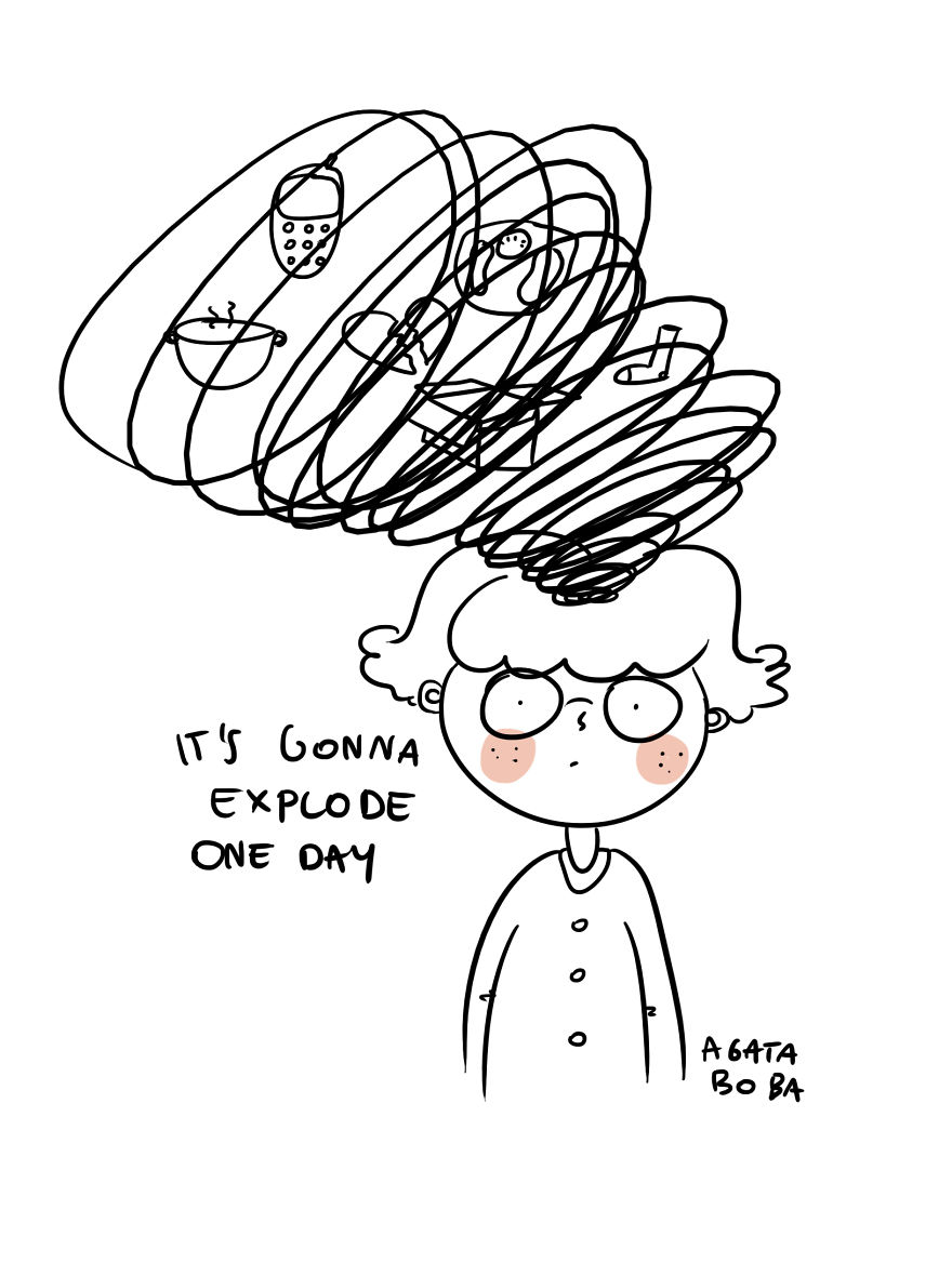 I Show How Anxiety Affects My Life Through Simple Comics