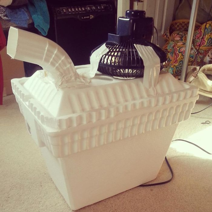 A Friend Of Mine Told Her Dad That She Wanted An Air Conditioner For Her Room... He Came Back With This
