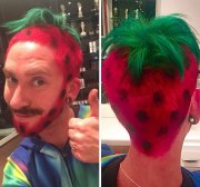 dye people hair good