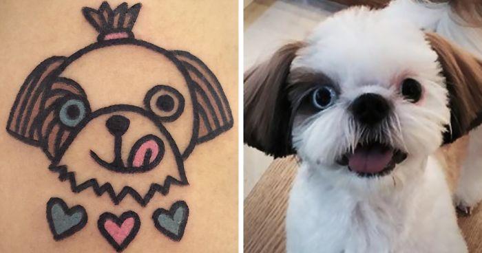 South Korean Tattoo Artist Turns Your Pets Into Pawsome Tattoos