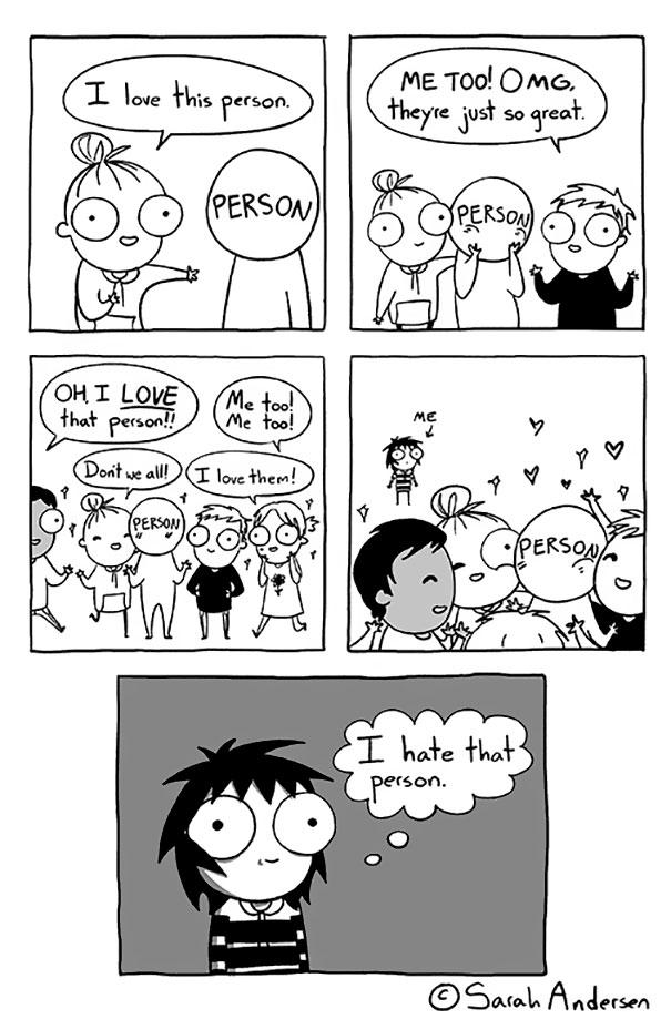 10+ Hilariously Honest Comics By Introvert Artist Sarah
