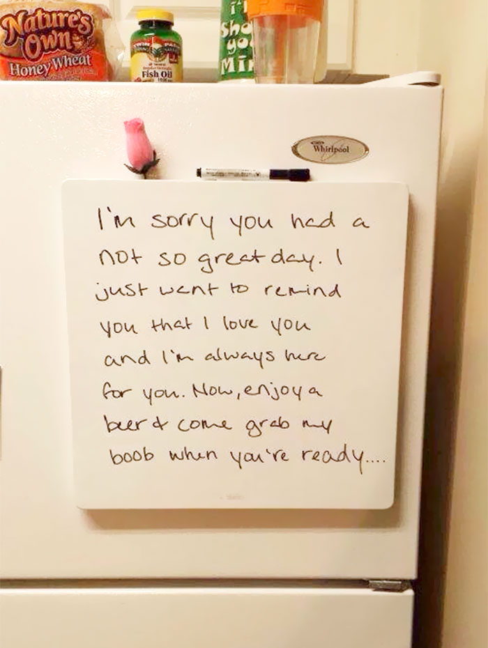 Funny Love Notes For Husband : funny, notes, husband, Hilarious, Notes, Couples, Sense, Humour, Bored, Panda