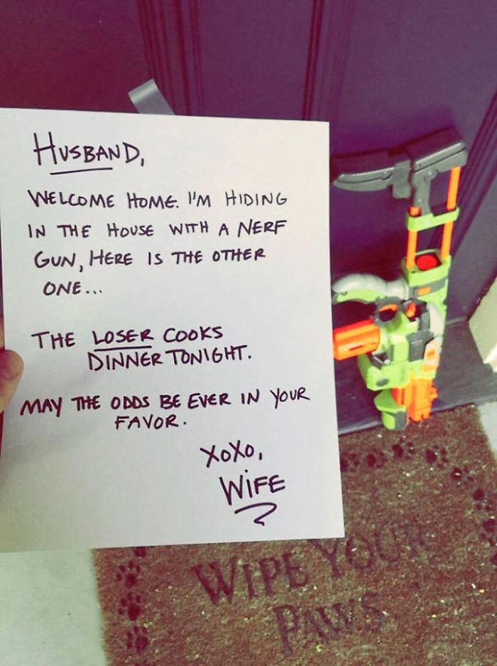 Funny Notes To Leave Your Husband : funny, notes, leave, husband, Hilarious, Notes, Couples, Sense, Humour, Bored, Panda
