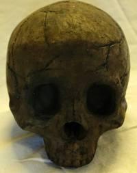 Terrifying Fireproof Human Skull Logs For Your Next Family ...