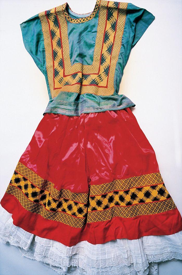Vestido Tehuana Tradicional