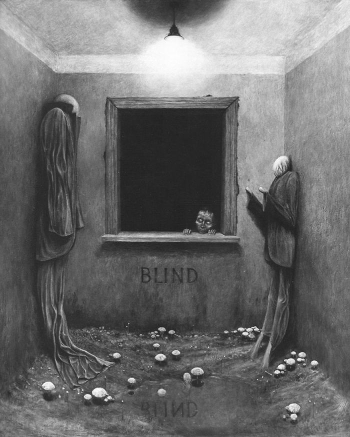 Pintura assustadora