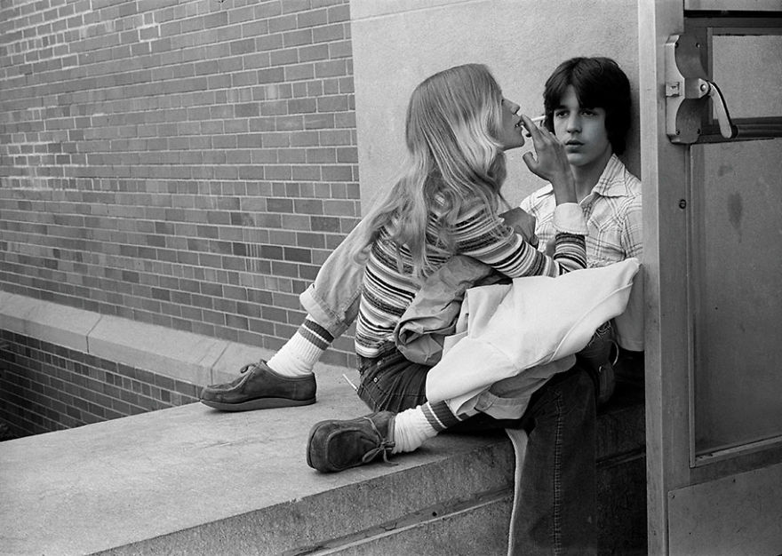 Nostalgic Portraits Of 1970s Rebel Youth Captured By High-school Teacher
