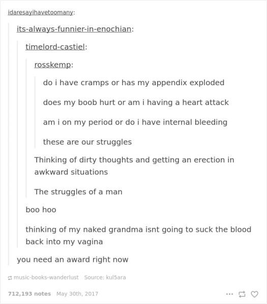 Period Jokes