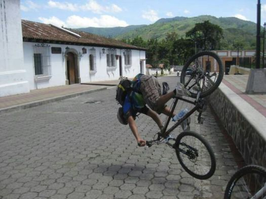 We Asked The Guide For Our Bicycle Tour If He Could Go Off The Curb