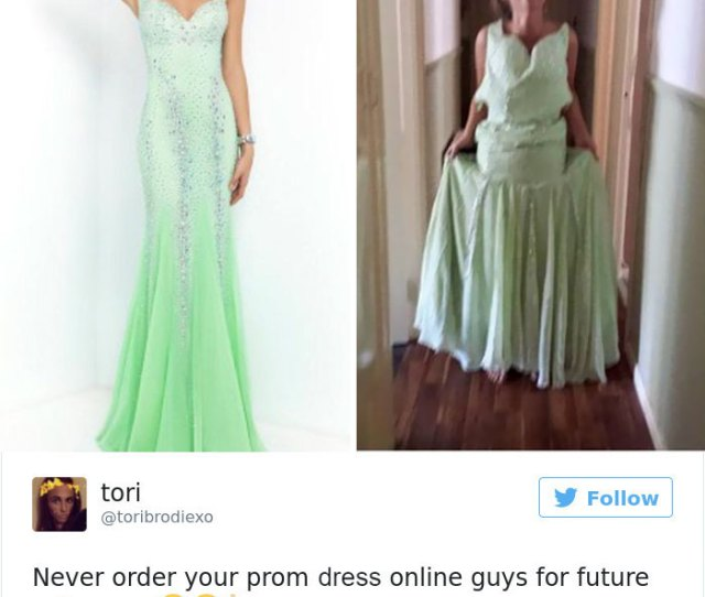 Prom Dress Online Fails