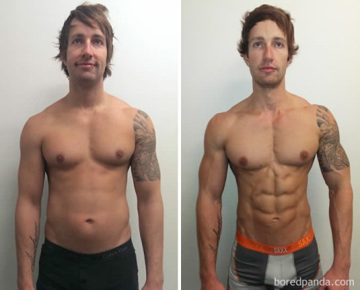 3 Months Muscle Building