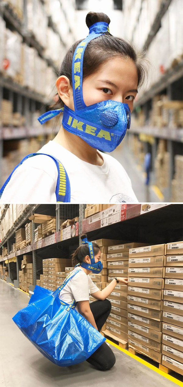 people making clothes ikea bags 591161760c009  700 - People Are Now Making Clothes Out Of 99-Cent IKEA Bags, And They Look More In The $2000+ Range