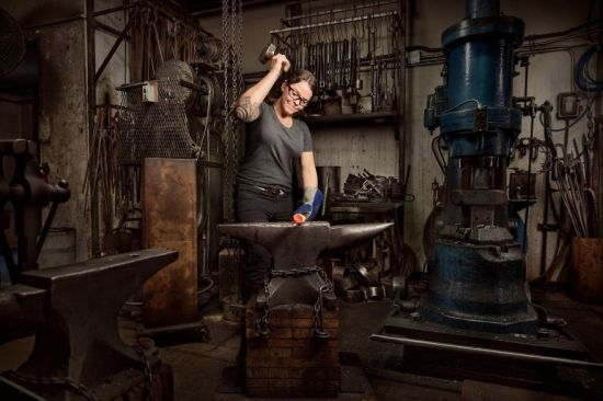 Women Doing 'men's Work'