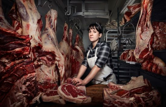 Heather Marold Thomason, Butcher And Owner Of Primal Supply Meats In Philadelphia, Pennsylvania