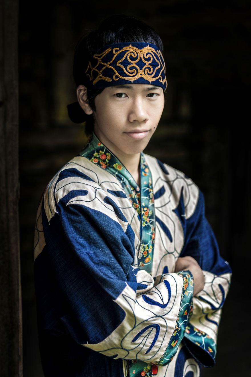 Ainu Young Man