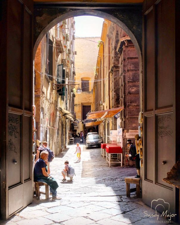 An Open View - Naples, Italy