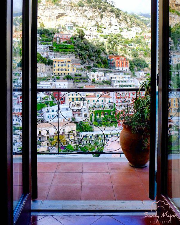 An Open View - Positano, Italy