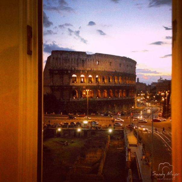 An Open View - Rome, Italy