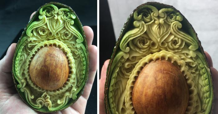 this avocado took me