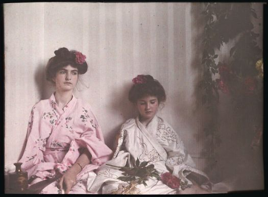 Two Girls In Oriental Costume, 1908