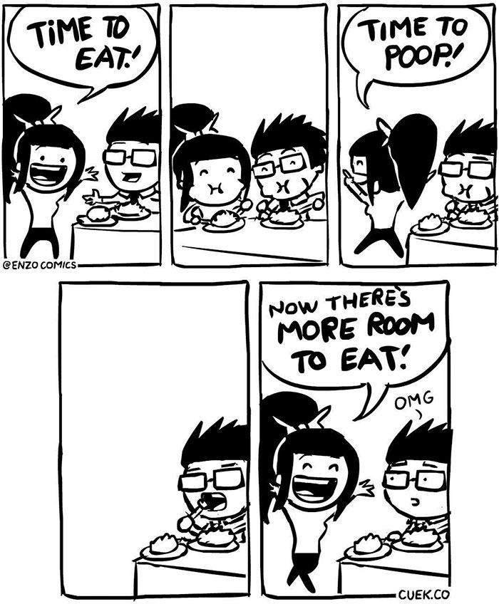 10+ Hilarious Food Comics That Will Make You Laugh So Hard